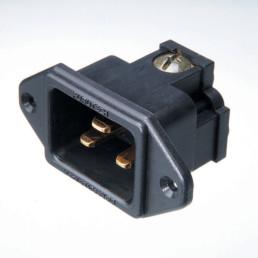Furutech FI-33 (G) 24k Gold-Plated 20A IEC Inlet