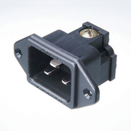 Furutech FI-33 (R) Rhodium-Plated 20A IEC Inlet