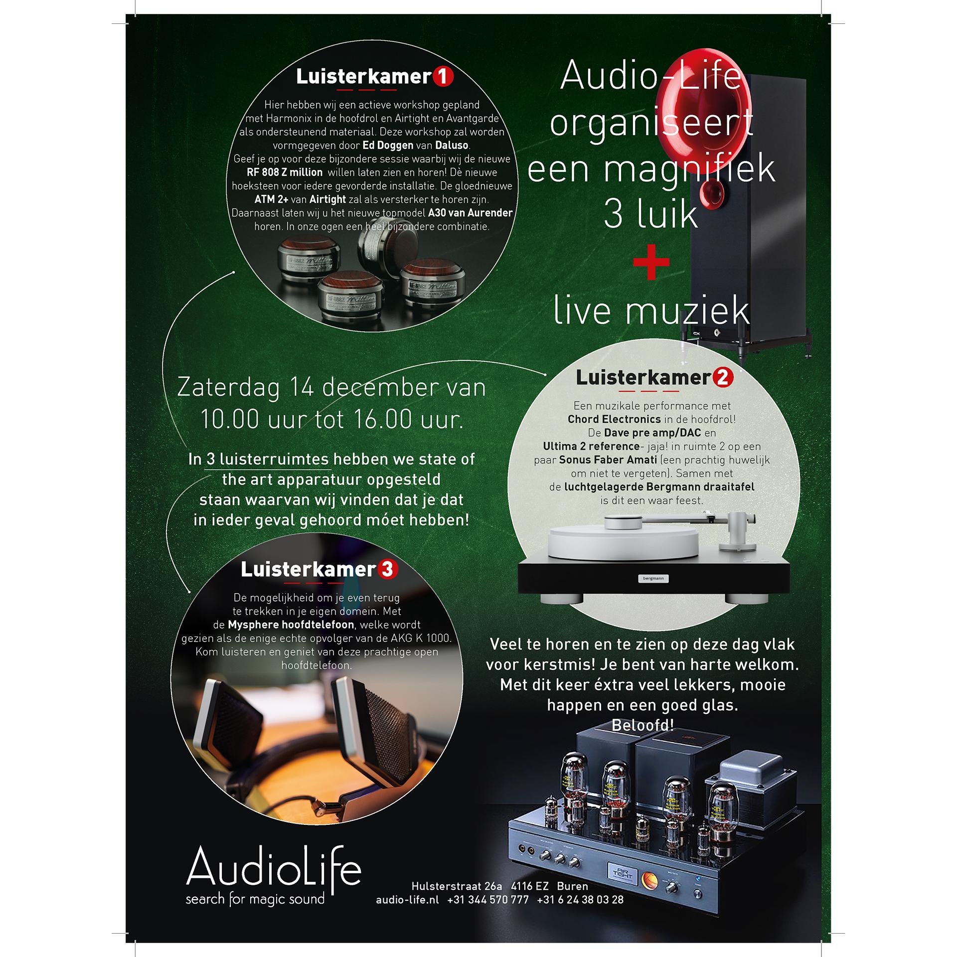 Drieluik 14 december - Audio-Life