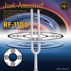 Harmonix RF-1100 CD Tuning Sheet