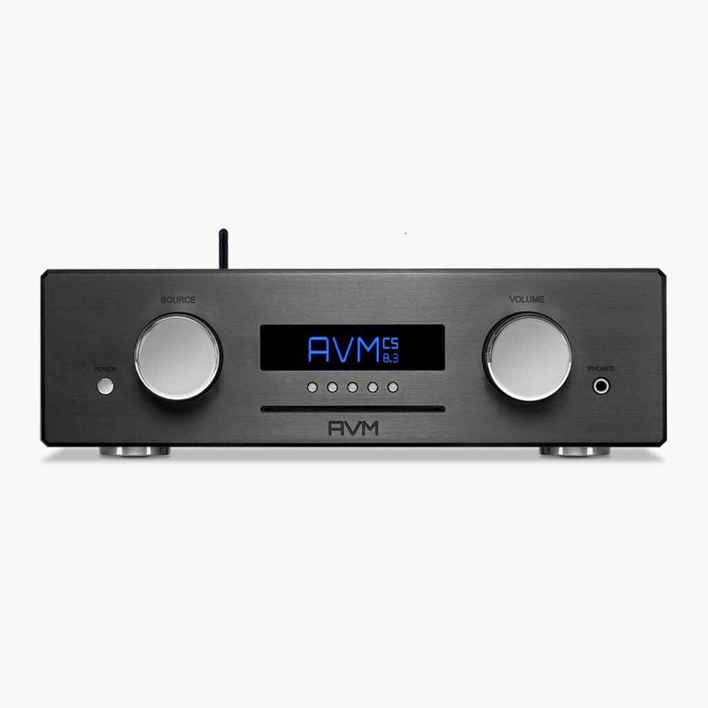 AVM-Audio-OVATION-CS-8-3-Black-Front-20022001